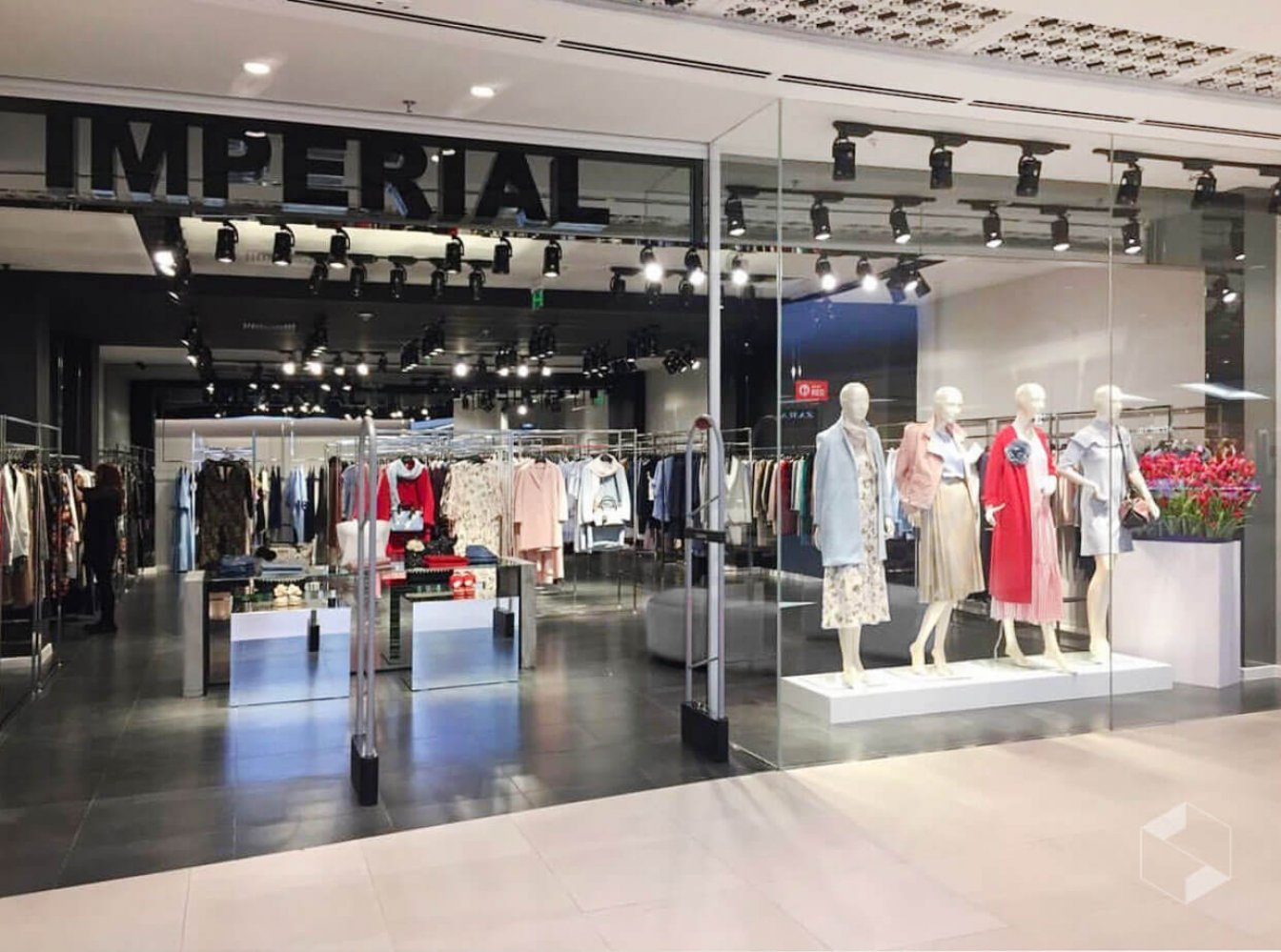 """IMPERIAL"" boutique in Dostyk Plaza"